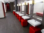 Amazing change rooms