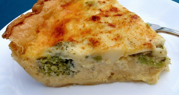 Easy-as-pie quiche