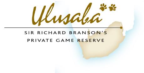Ulusaba Logo with map